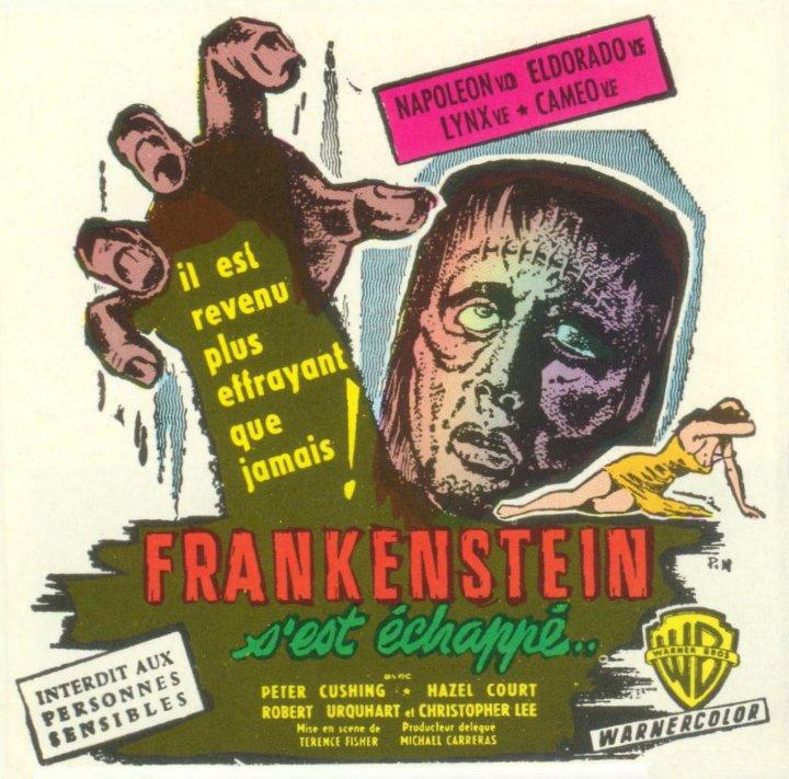 Frankenstain s'est échappé