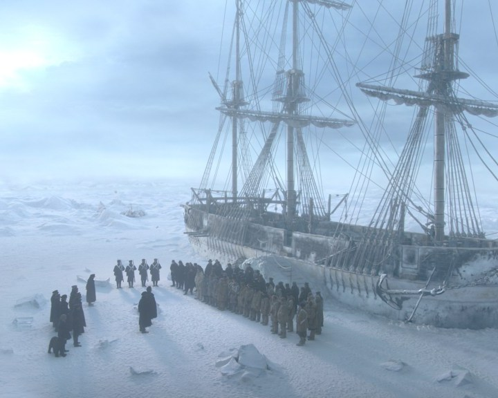The Terror Dan Simmons Ridley Scott Tony Scott Jared Harris Tobias Menzies
